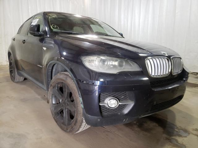 Salvage cars for sale from Copart Central Square, NY: 2009 BMW X6 XDRIVE3