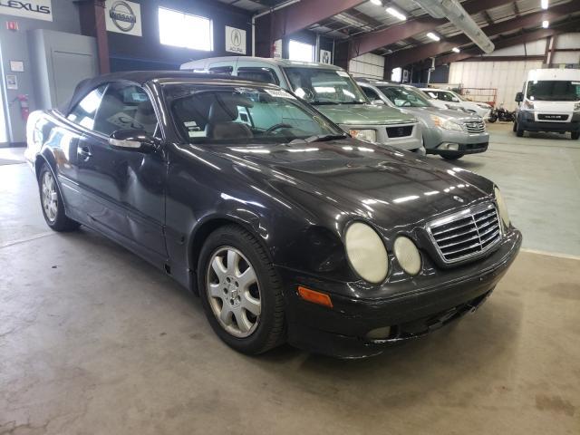 Vehiculos salvage en venta de Copart East Granby, CT: 2002 Mercedes-Benz CLK 320