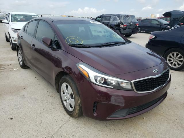 Salvage cars for sale at New Orleans, LA auction: 2017 KIA Forte LX