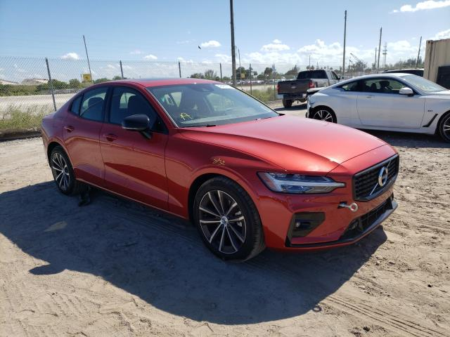 Salvage cars for sale at West Palm Beach, FL auction: 2021 Volvo S60 T5 R-D