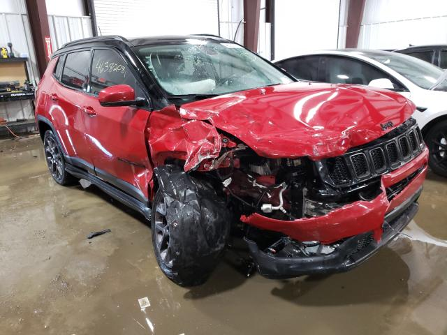 Salvage cars for sale from Copart West Mifflin, PA: 2019 Jeep Compass LI