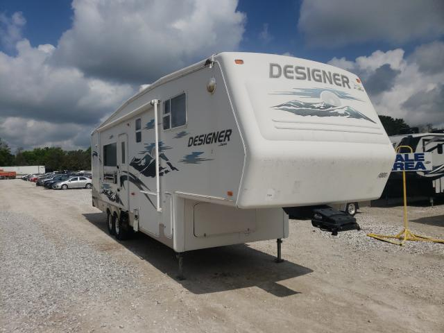 Salvage trucks for sale at Rogersville, MO auction: 2006 Jayco Designer