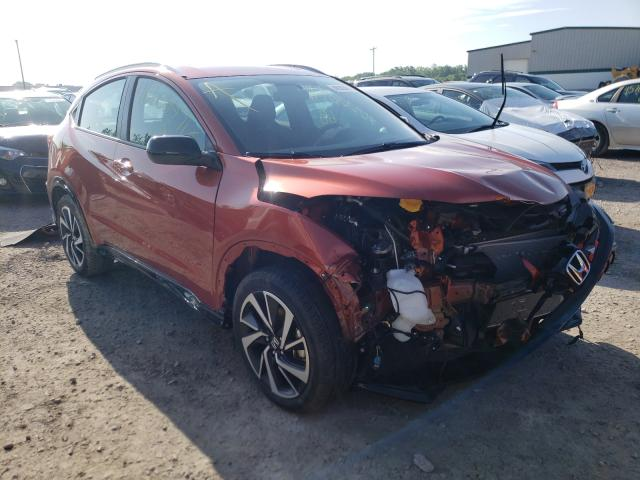 Salvage cars for sale from Copart Leroy, NY: 2020 Honda HR-V Sport