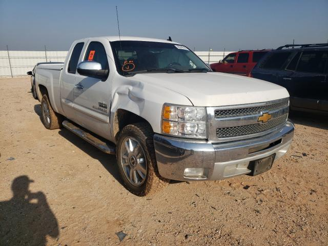Salvage cars for sale from Copart Andrews, TX: 2013 Chevrolet Silverado