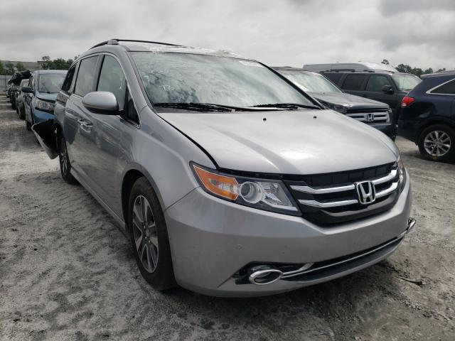 Honda salvage cars for sale: 2016 Honda Odyssey TO