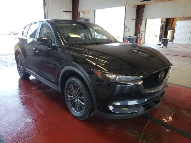 Salvage cars for sale from Copart Angola, NY: 2019 Mazda CX-5 Touring