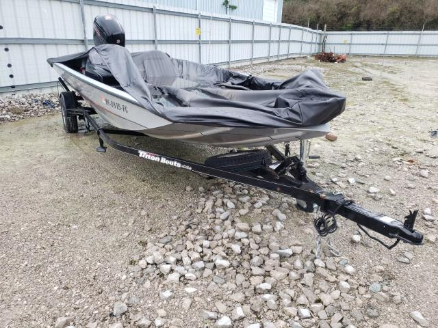 Salvage cars for sale from Copart Lexington, KY: 2018 Triton Boat