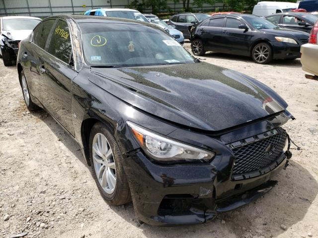 Salvage cars for sale from Copart Mendon, MA: 2016 Infiniti Q50 Premium