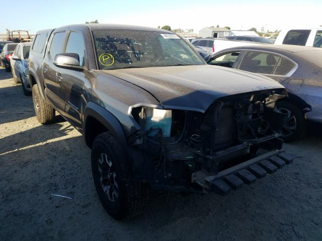 Salvage cars for sale from Copart Antelope, CA: 2019 Toyota Tacoma DOU