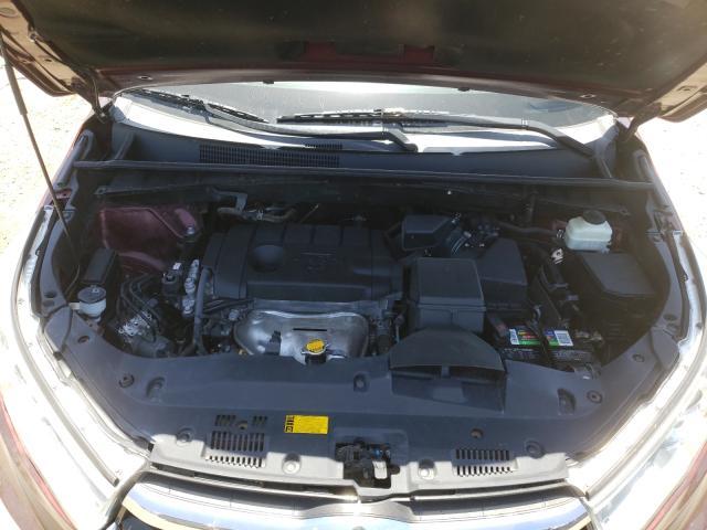 2015 Toyota Highlander 2.7L, VIN: 5TDZARFH7FS******, аукцион: COPART, номер лота: 46428931