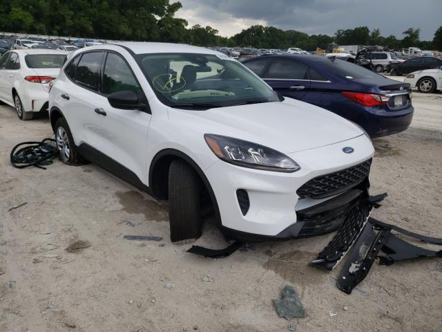 Salvage cars for sale from Copart Ocala, FL: 2020 Ford Escape S