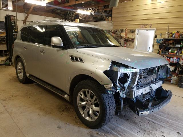 Salvage cars for sale from Copart Billings, MT: 2012 Infiniti QX56
