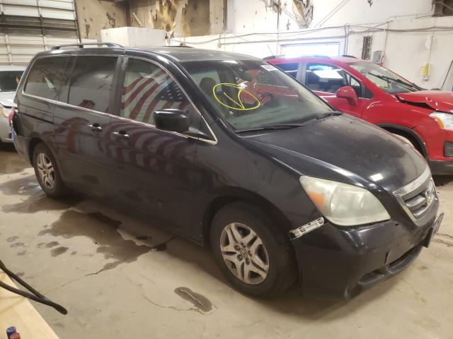 Salvage cars for sale from Copart Casper, WY: 2006 Honda Odyssey EX