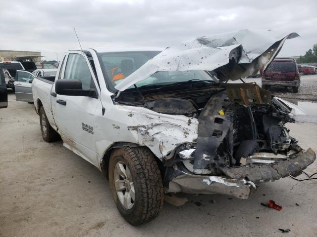Salvage cars for sale at Tulsa, OK auction: 2015 Dodge RAM 1500 ST