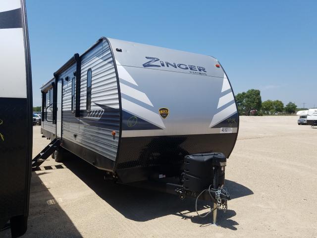 Salvage trucks for sale at Abilene, TX auction: 2020 Zinger Trailer