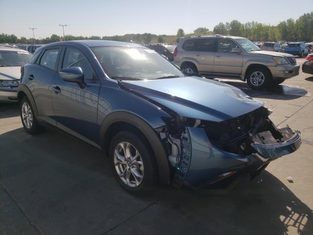 Mazda salvage cars for sale: 2019 Mazda CX-3 Sport