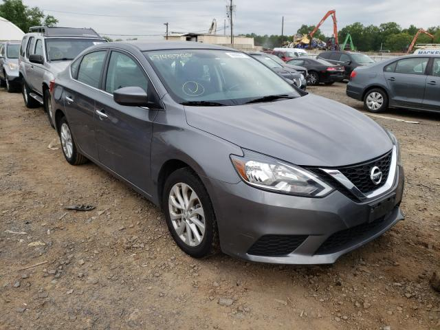 Salvage cars for sale from Copart Hillsborough, NJ: 2019 Nissan Sentra S