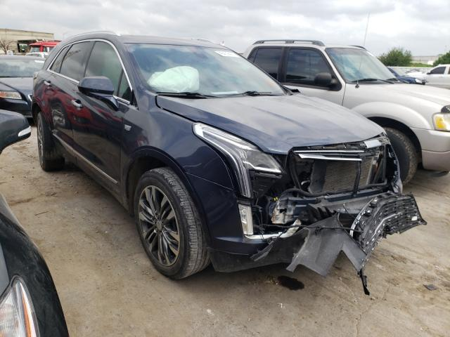 Salvage cars for sale from Copart Tulsa, OK: 2018 Cadillac XT5 Premium