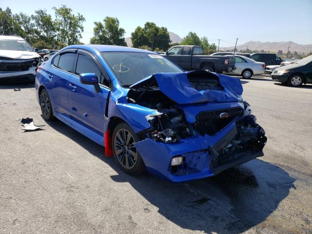 Salvage cars for sale from Copart Colton, CA: 2020 Subaru WRX