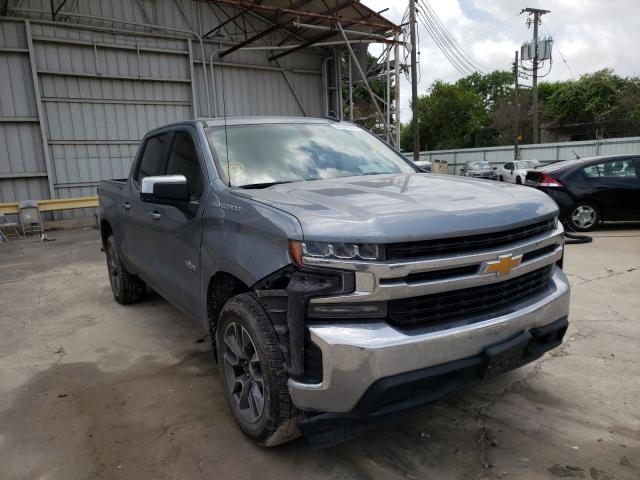 Salvage cars for sale from Copart Corpus Christi, TX: 2019 Chevrolet Silverado