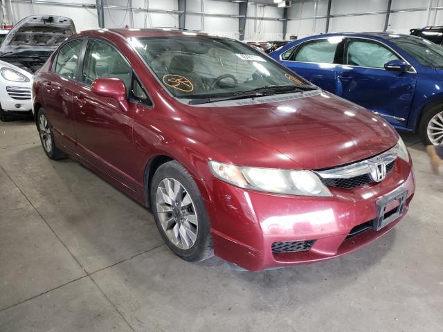Vehiculos salvage en venta de Copart Ham Lake, MN: 2009 Honda Civic EX