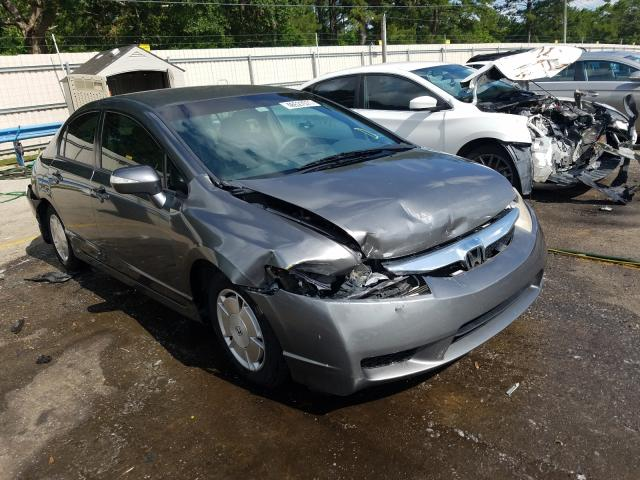 Salvage cars for sale at Eight Mile, AL auction: 2009 Honda Civic Hybrid