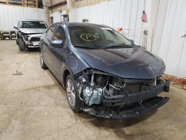 Salvage cars for sale from Copart Anchorage, AK: 2015 Toyota Corolla EC