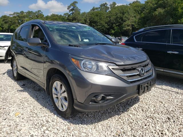 Salvage cars for sale from Copart Houston, TX: 2013 Honda CR-V EXL