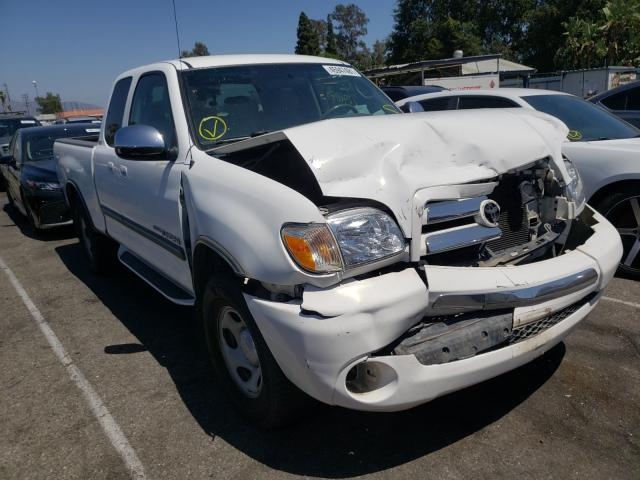 Salvage cars for sale from Copart Van Nuys, CA: 2006 Toyota Tundra ACC
