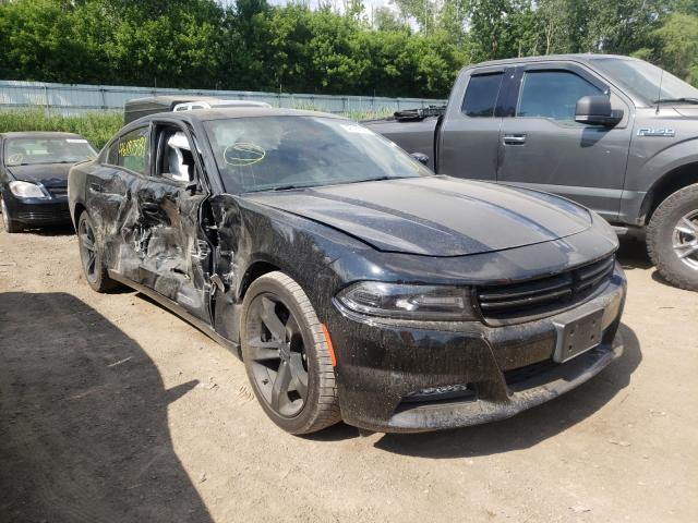 Salvage cars for sale from Copart Davison, MI: 2016 Dodge Charger R