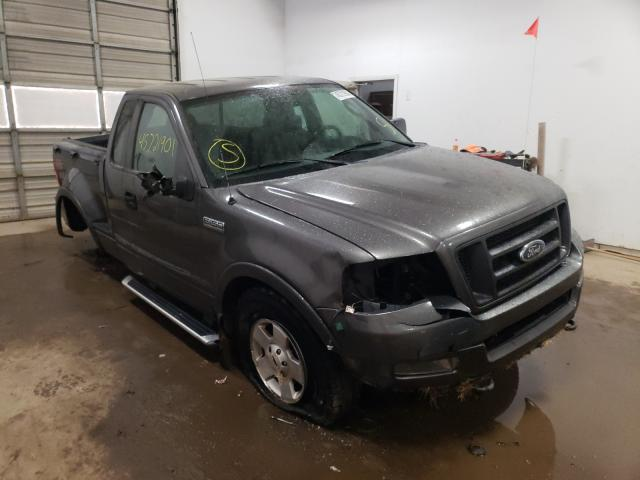 Salvage cars for sale from Copart Davison, MI: 2004 Ford F150
