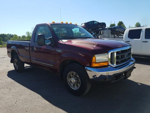 Ford salvage cars for sale: 2000 Ford F250 Super