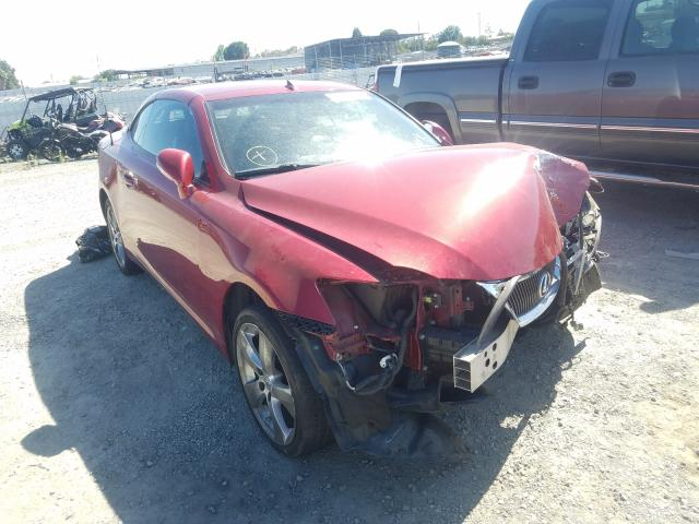 Salvage cars for sale from Copart Antelope, CA: 2011 Lexus IS 250