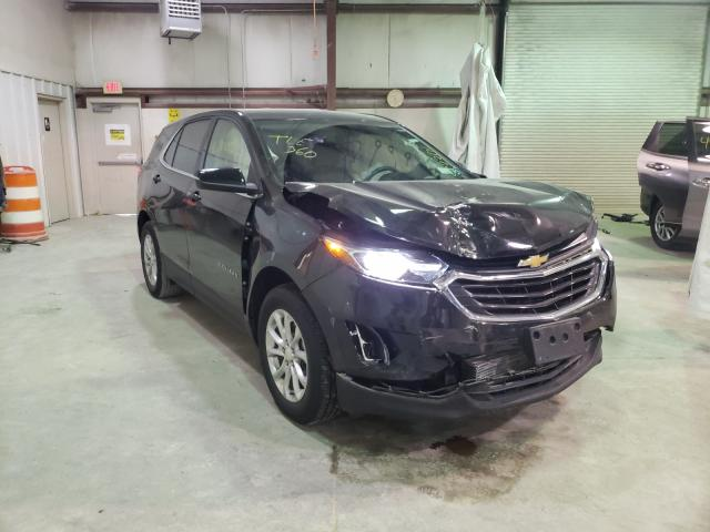 Salvage cars for sale from Copart Leroy, NY: 2019 Chevrolet Equinox LT