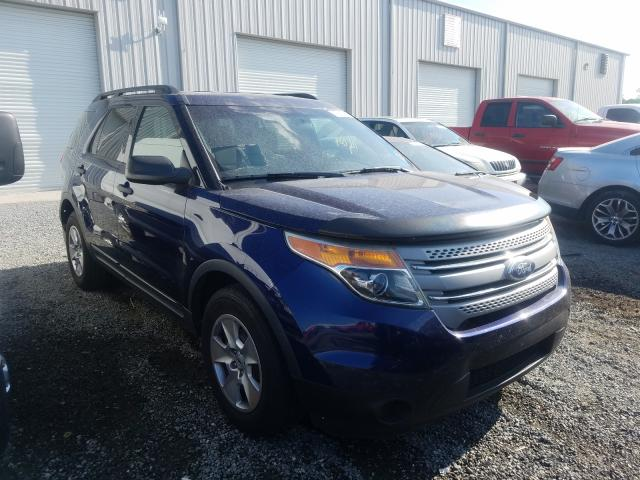 Vehiculos salvage en venta de Copart Jacksonville, FL: 2011 Ford Explorer