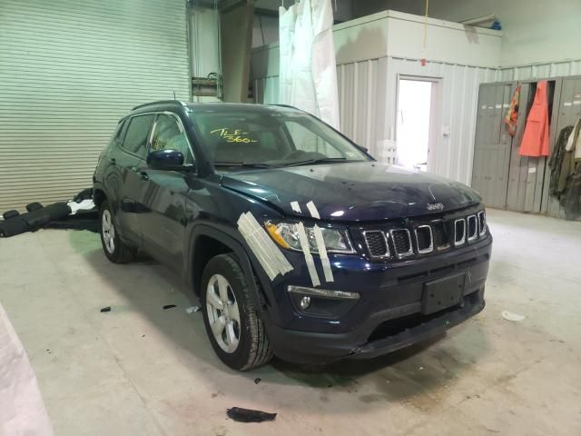 Salvage cars for sale from Copart Leroy, NY: 2020 Jeep Compass LA