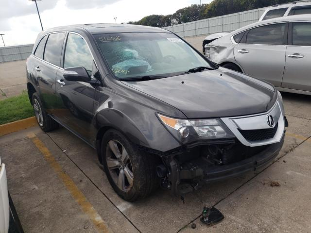 Salvage cars for sale from Copart Oklahoma City, OK: 2011 Acura MDX Techno