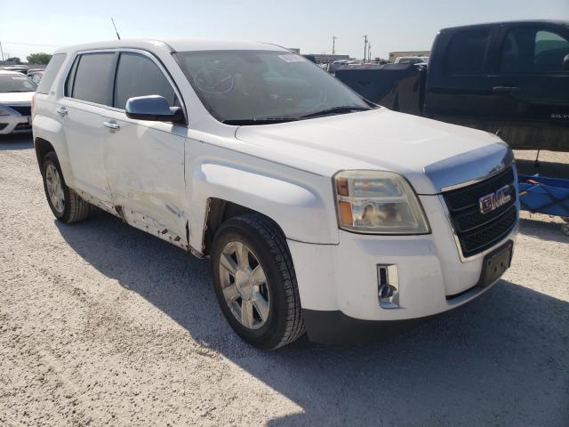 Salvage cars for sale from Copart San Antonio, TX: 2010 GMC Terrain SL