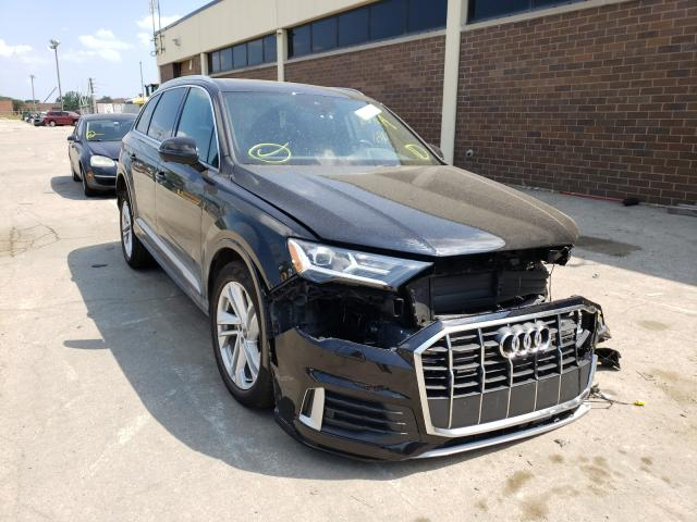 Salvage cars for sale from Copart Wheeling, IL: 2021 Audi Q7 Premium