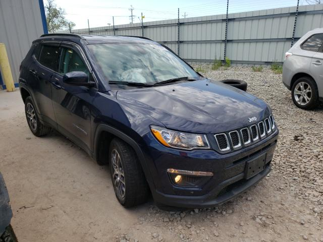 Salvage cars for sale from Copart Appleton, WI: 2018 Jeep Compass LA