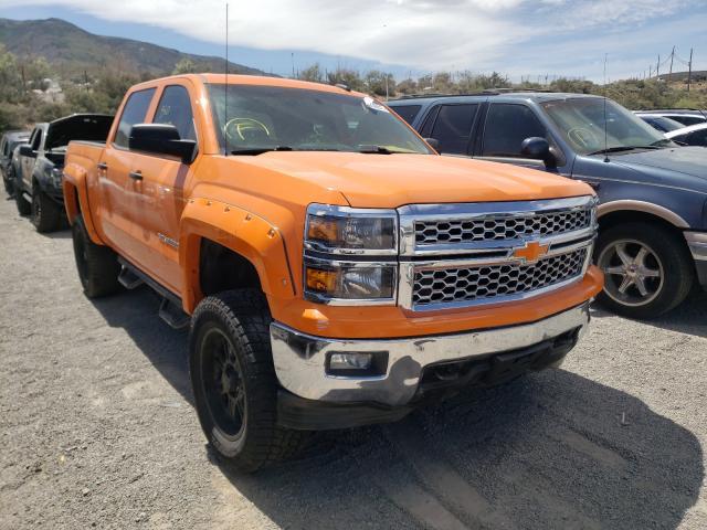 Salvage cars for sale from Copart Reno, NV: 2015 Chevrolet Silverado