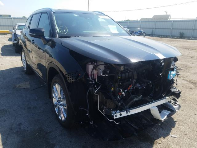 Salvage cars for sale from Copart Dyer, IN: 2021 Toyota Highlander
