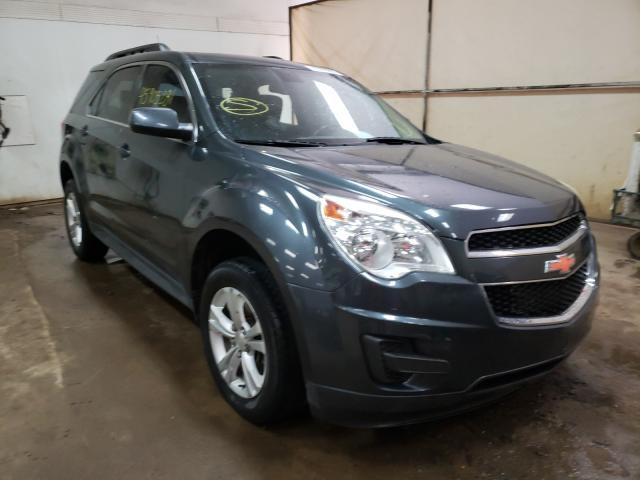 Salvage cars for sale from Copart Davison, MI: 2011 Chevrolet Equinox LT