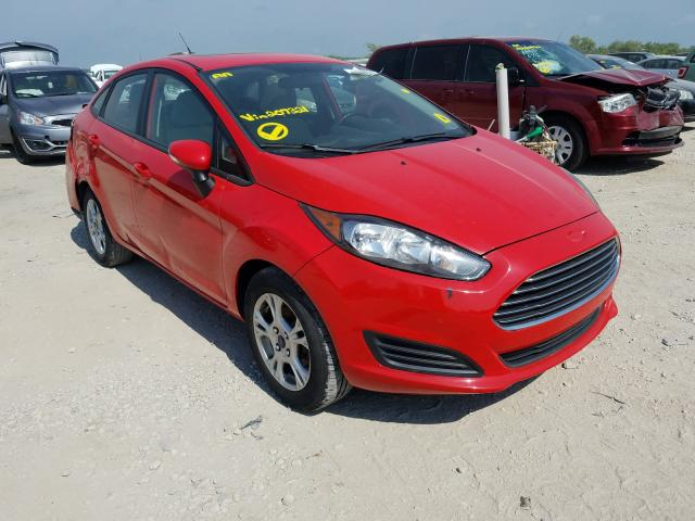 Salvage cars for sale from Copart Kansas City, KS: 2014 Ford Fiesta SE