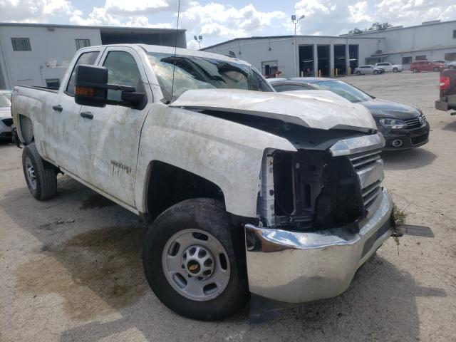 Salvage cars for sale from Copart Riverview, FL: 2017 Chevrolet Silverado