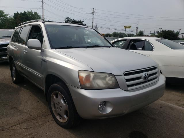 Salvage cars for sale from Copart Moraine, OH: 2004 Toyota Highlander
