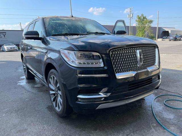 Salvage cars for sale from Copart Montreal Est, QC: 2019 Lincoln Navigator