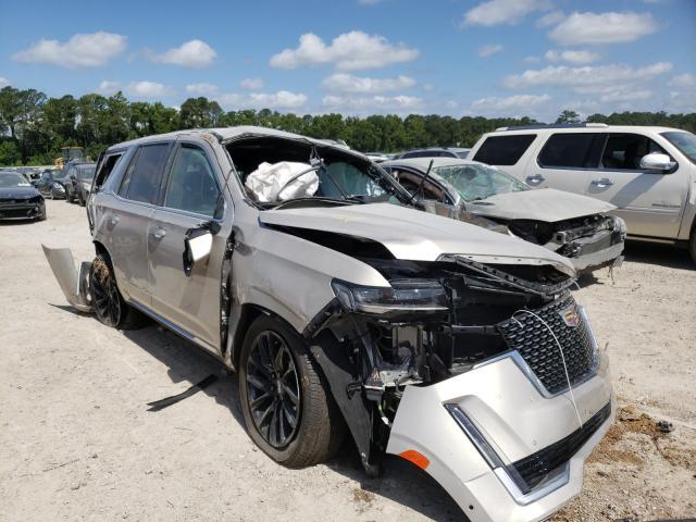 Vehiculos salvage en venta de Copart Houston, TX: 2021 Cadillac Escalade P