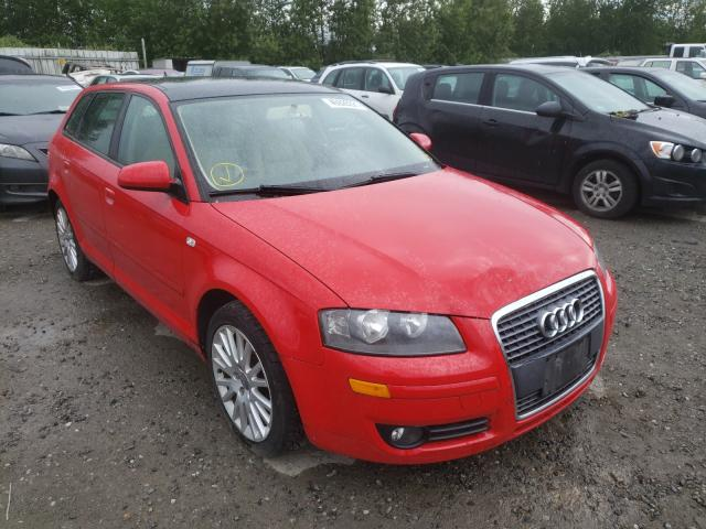 Salvage cars for sale from Copart Arlington, WA: 2007 Audi A3