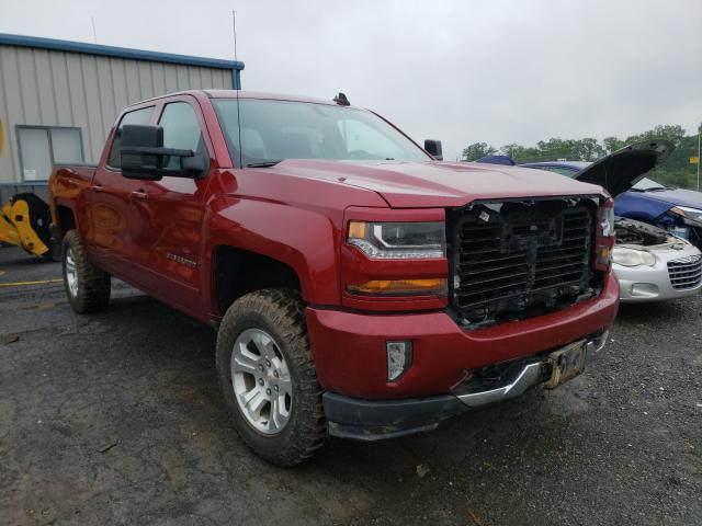 Salvage cars for sale from Copart Chambersburg, PA: 2018 Chevrolet Silverado